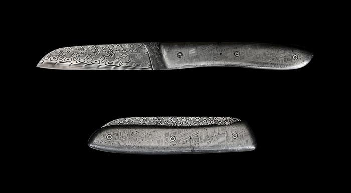 Perceval L08 – складной нож с рукояткой из метеоритного сплава