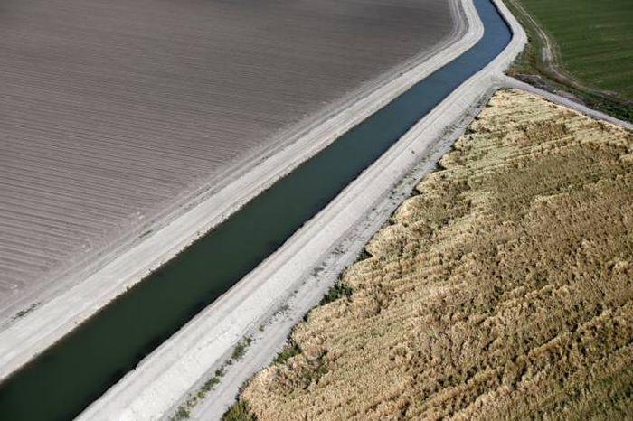 Последствия засухи в Калифорнии