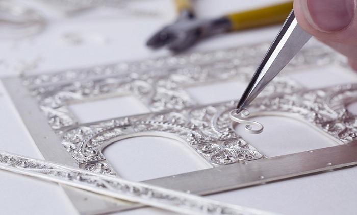 Скань – тончайшее кружево из металлических нитей
