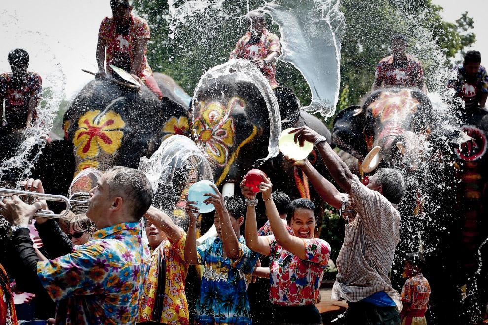 Сонгкран — тайский Новый год