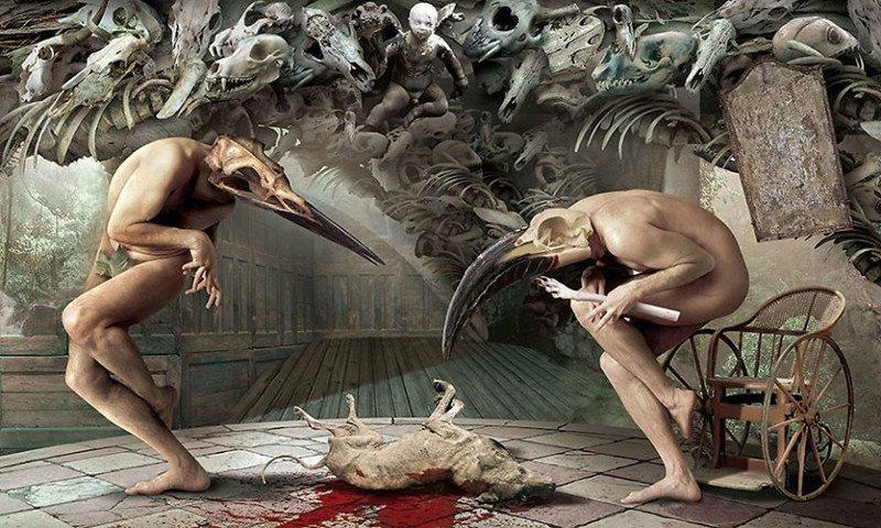 Сюрреалистические иллюстрации от Игоря Морски