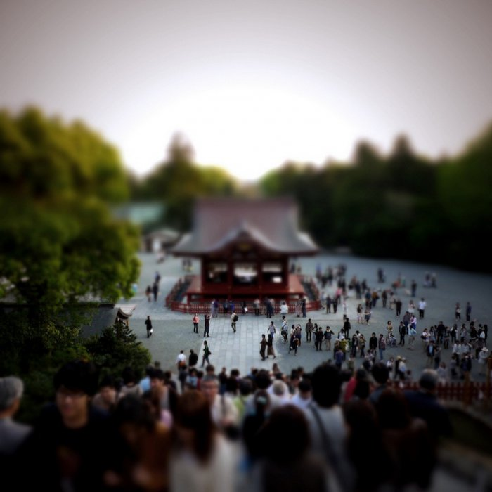 Тилт-шифт фотографии Токио