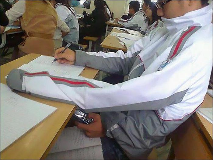 Хитрые шпаргалки от изобретательных студентов и школьников