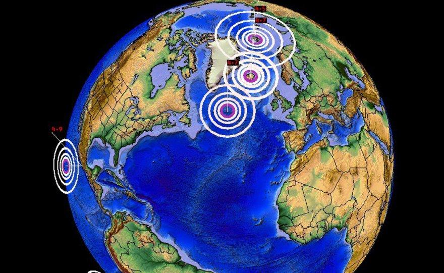 Куда движется Северный полюс