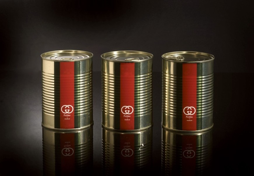 Привычные продукты в стиле известных брендов