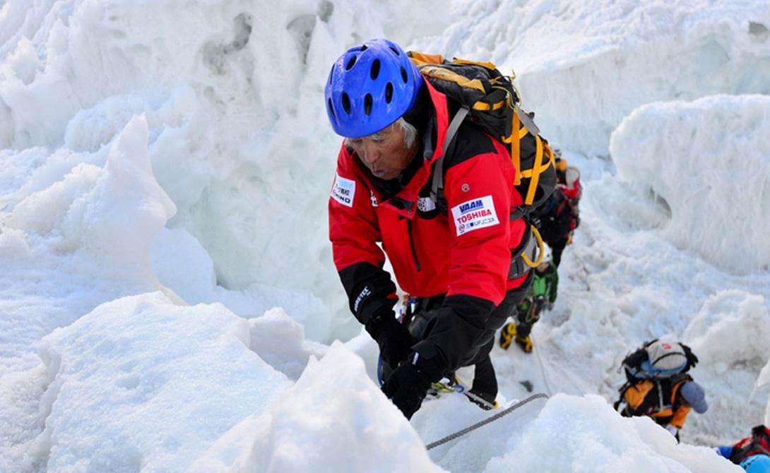 Необычные случаи из покорений Эвереста