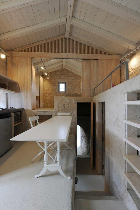 Современное жилище в заброшенной башне XVIII века