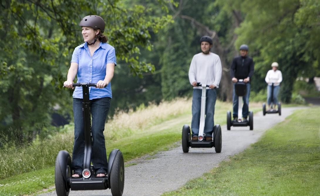 Удивительные современные способы покататься летом без велосипеда