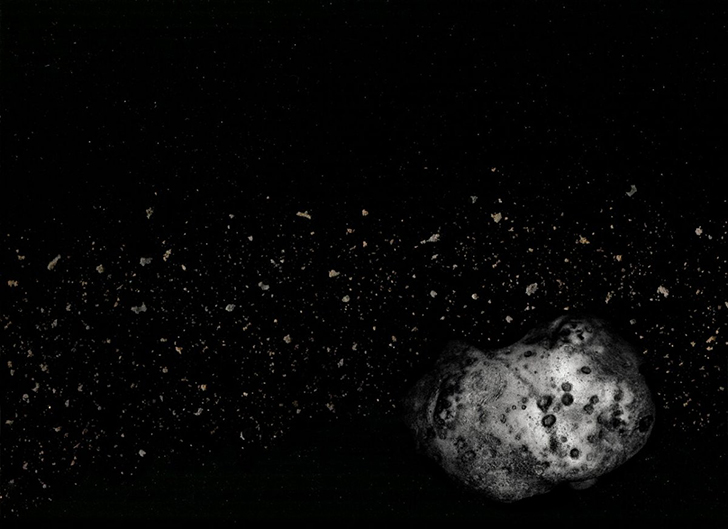 Фотографии космоса из специй, продуктов и посуды