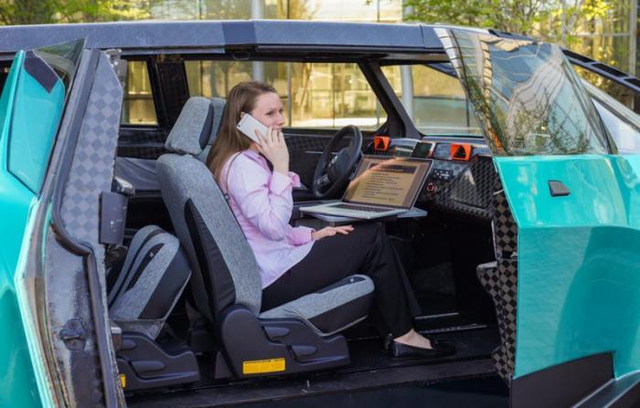 Необычный автомобиль Toyota uBox для современной молодежи
