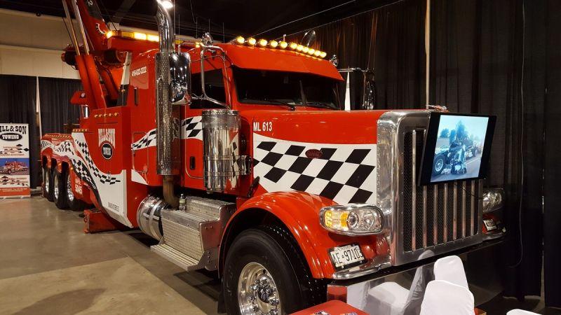 Выставка американских грузовиков Truck World 2016 в Канаде