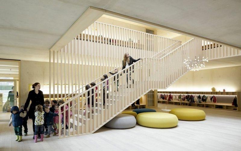 Экологичный детский сад в Австралии
