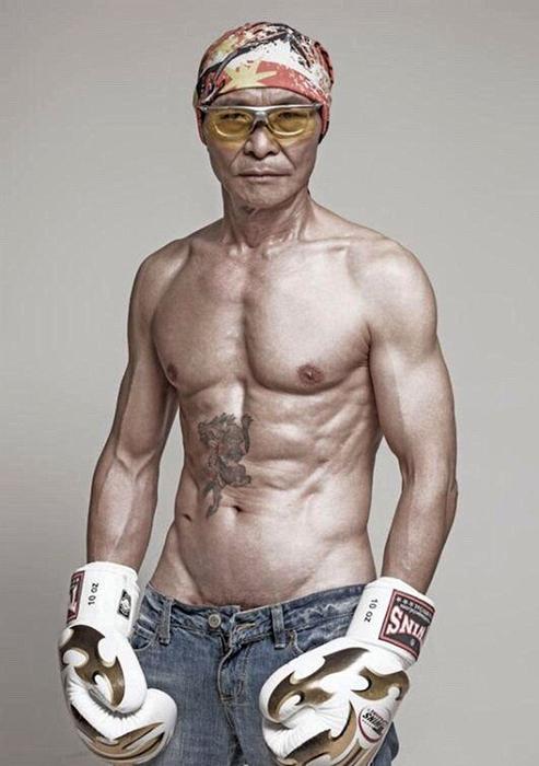 Как мужчина изменил свое тело в 61 год