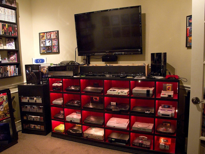 Комнаты настоящих геймеров и фанатов компьютерных игр