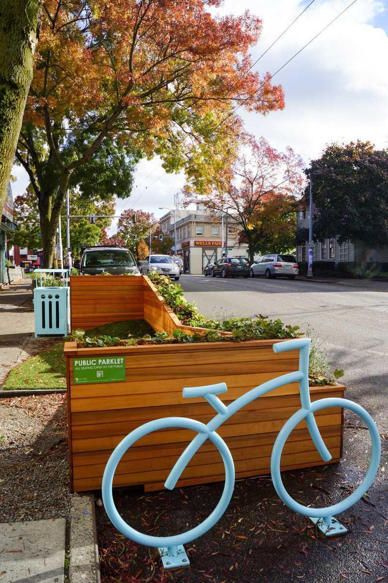 Небольшие городские зоны отдыха — парклеты