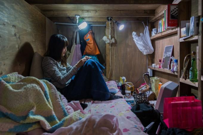 Отель с крохотными номерами в Японии