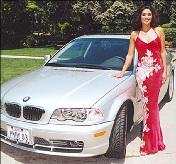 Ретро девушки Плейбой и ретро автомобили