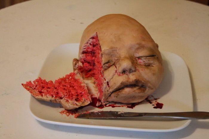 Жутковатые и отвратительные торты
