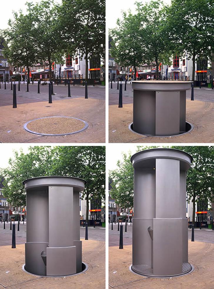 Самые необычные общественные туалеты