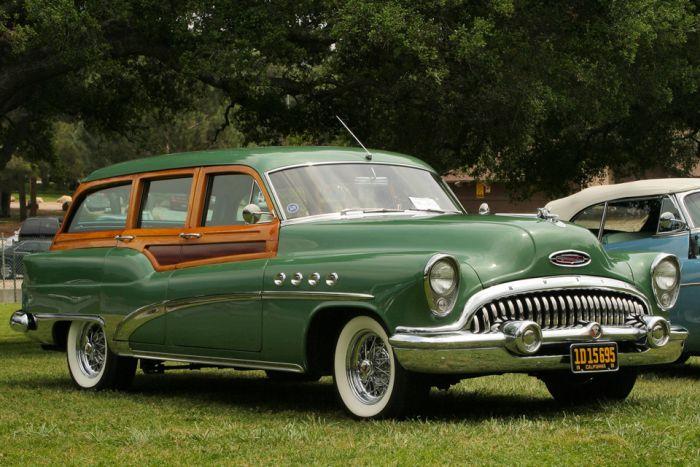 Деревянные машины XX века - вуди-кары
