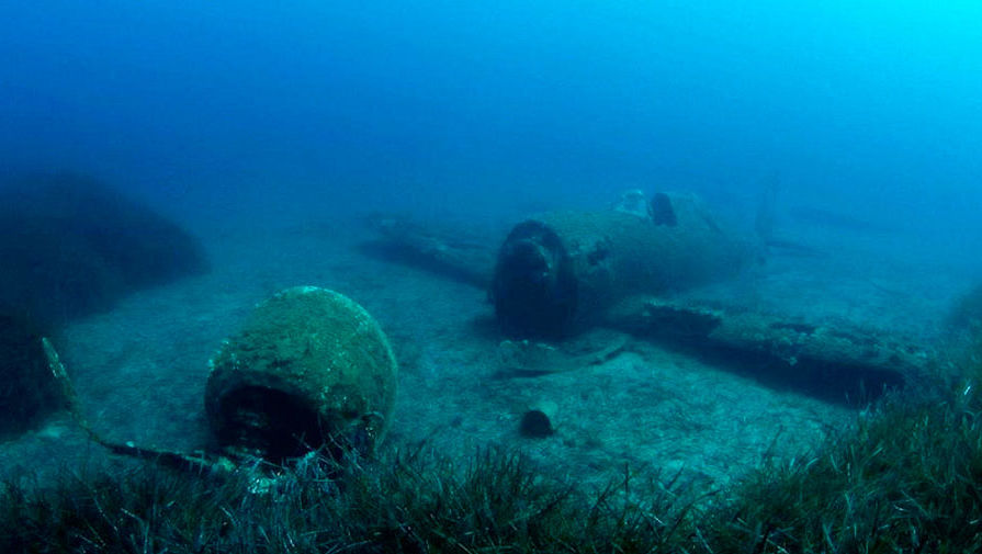 Фотограф снял затонувшие корабли по всему миру