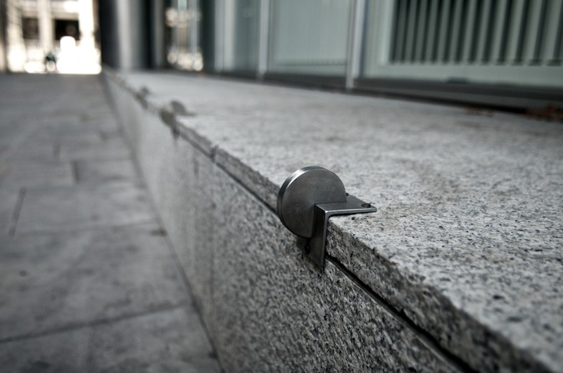 Металлические конструкции на улицах Лондона