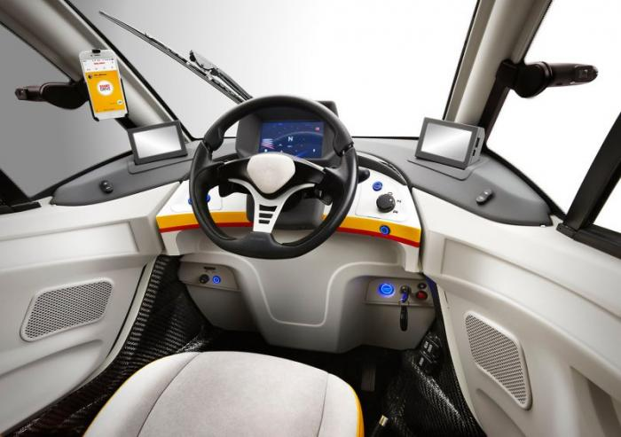 Концепт Shell от создателя McLaren F1