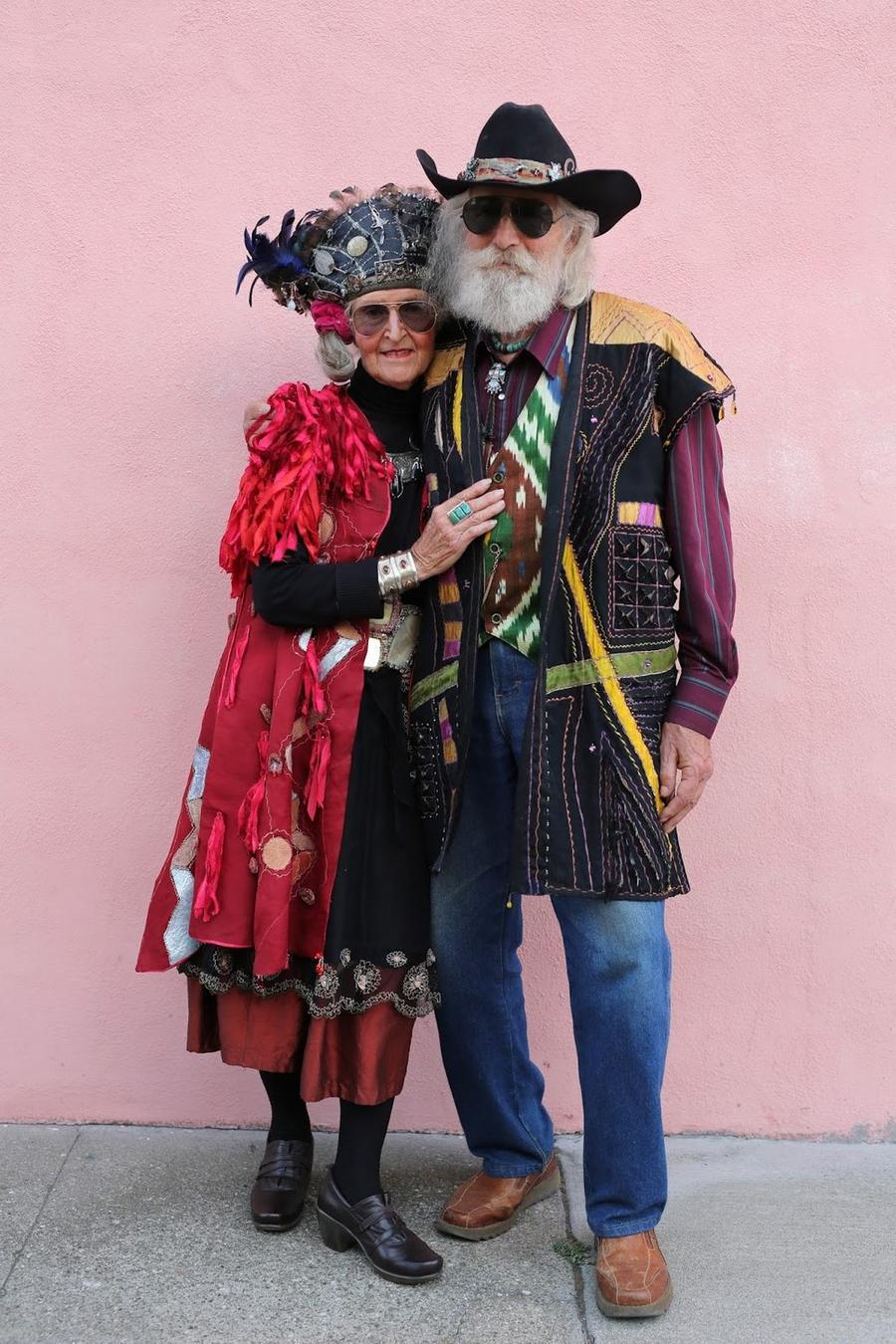 Модные дедушки и бабушки