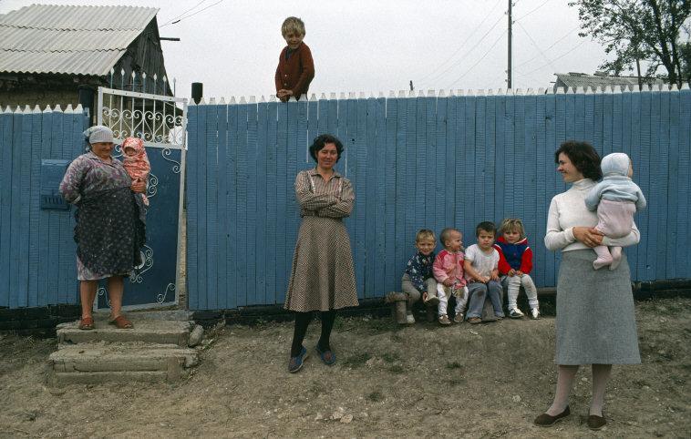 Молдова конца 80-х от Бруно Барби