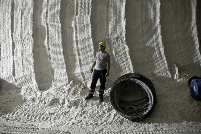 Добыча соли на Сицилии