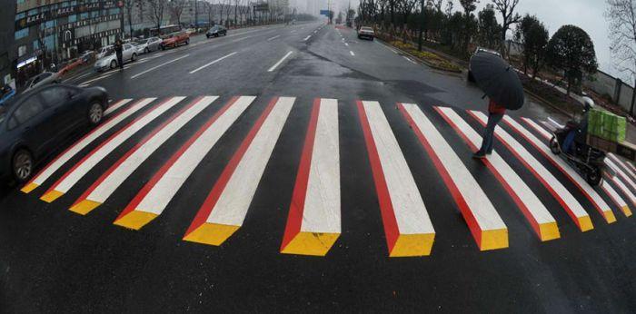 Пешеходные переходы 3D