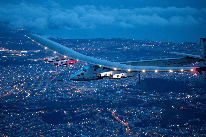 Самолёт на солнечных батареях: Солнечный Импульс-2