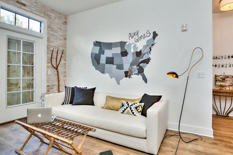 Стильная студенческая квартира в США