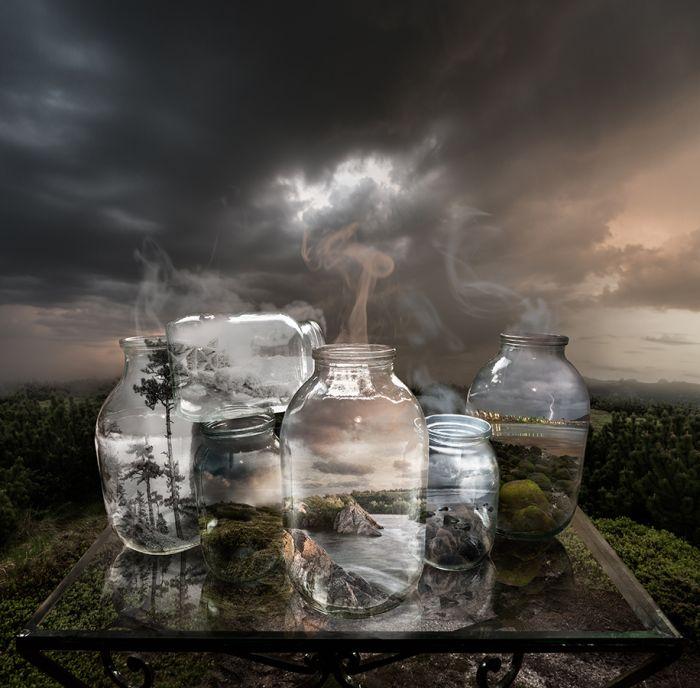 Сюрреалистические работы фотохудожника Михаила Батрака