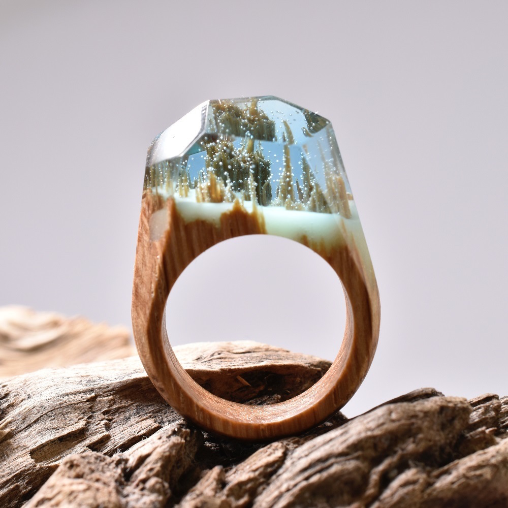 Удивительные пейзажи в кольцах