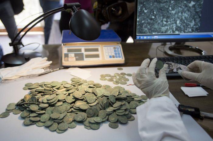 Испанские строители обнаружили древний клад