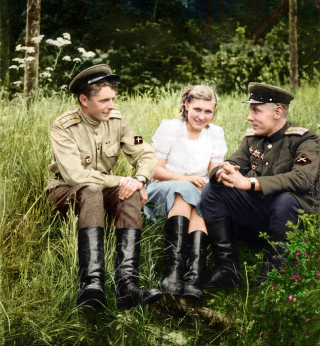 Раскрашенные фотографии России и СССР 1900 - 1965 гг.