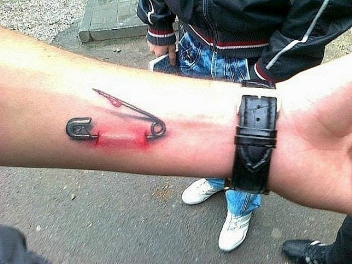 3D татуировки, которые потрясают своей реалистичностью
