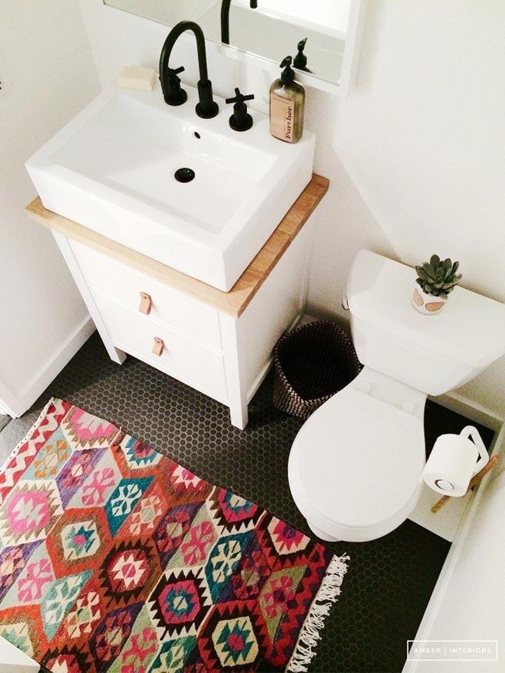 15 простых способов украсить ванную комнату