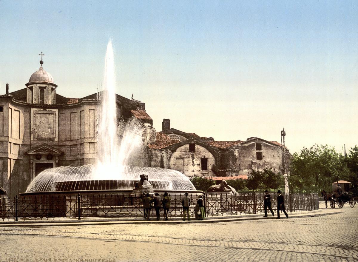 Рим в цветных открытках 1890 года