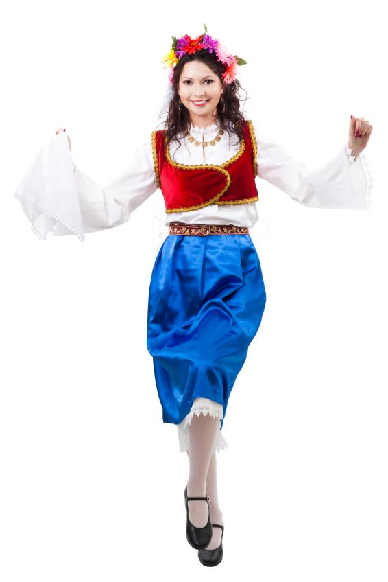 Национальные костюмы из разных стран мира