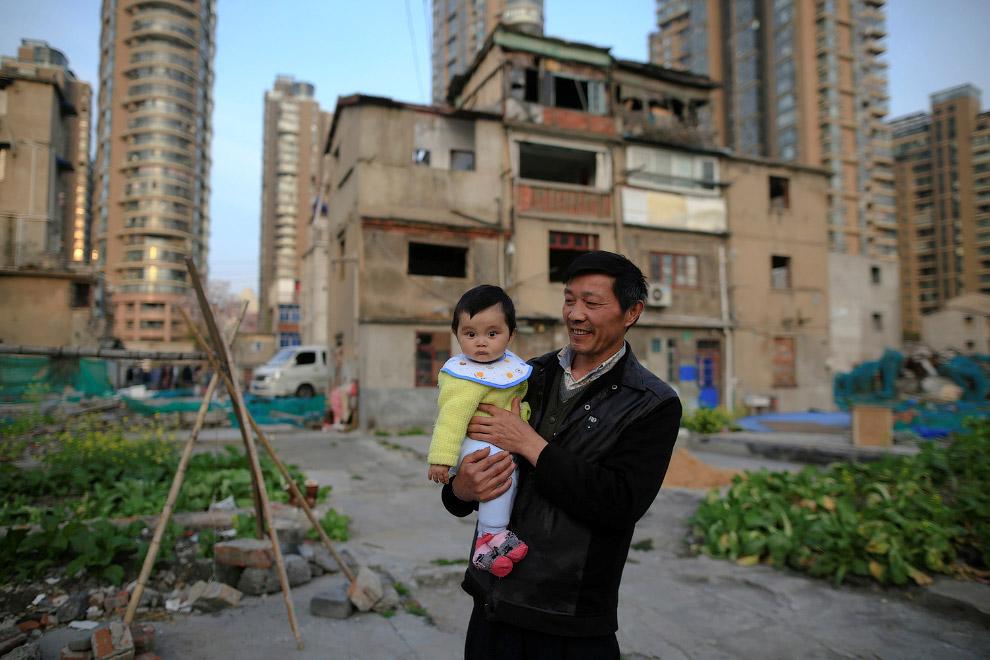 Жизнь в каменных джунглях на окраине Шанхая