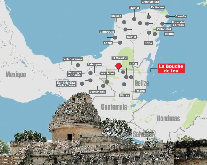 Канадский школьник нашел неизвестный ранее город индейцев майя
