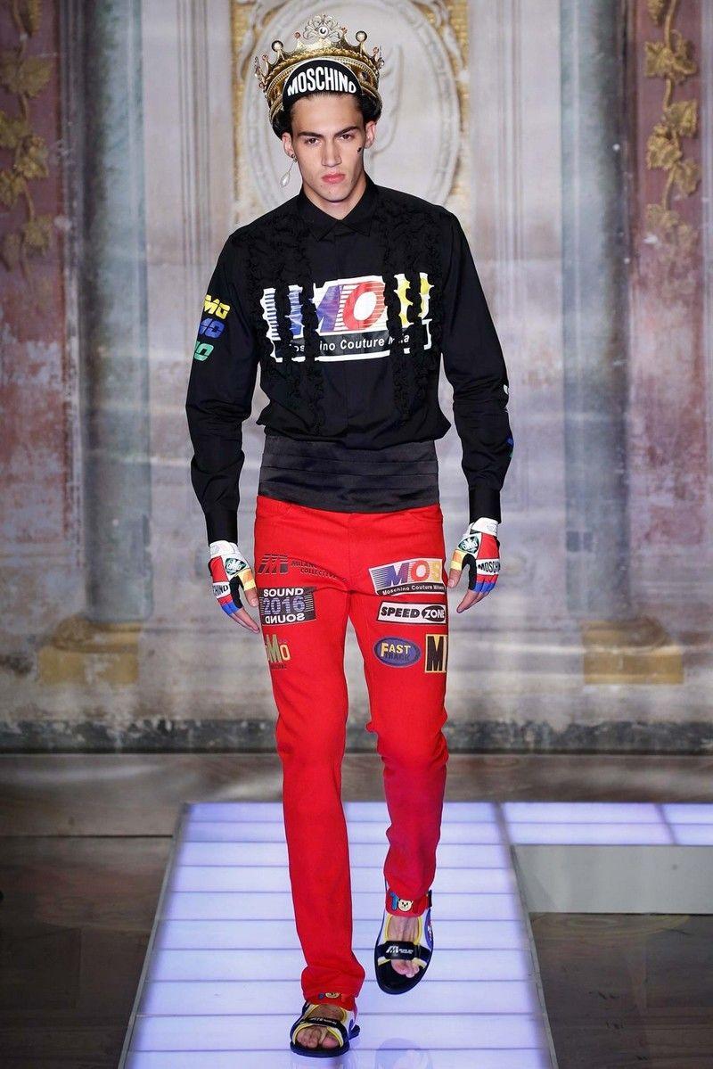 Коллекция летней мужской одежды Moschino для настоящих модников