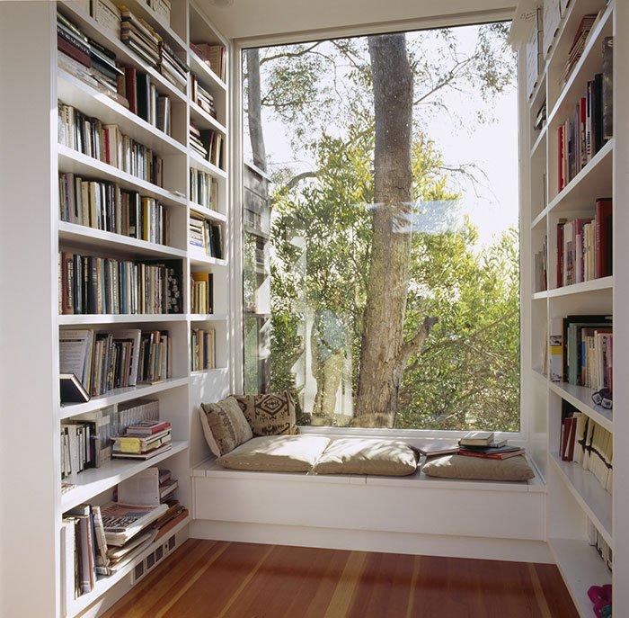 Уютные уголки для книголюбов