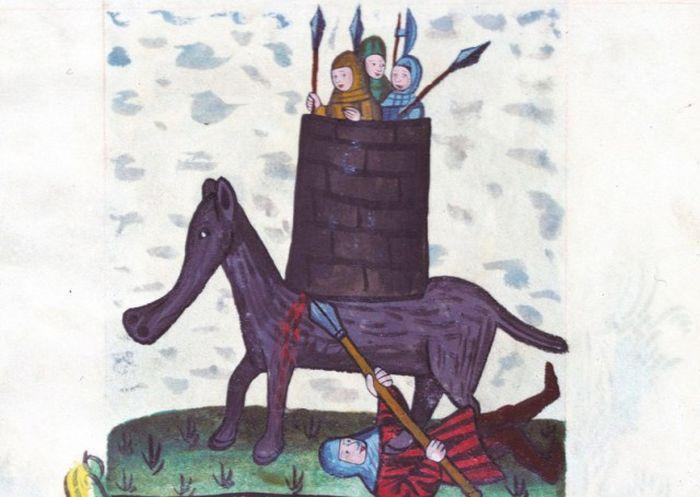 Как средневековые художники рисовали слонов