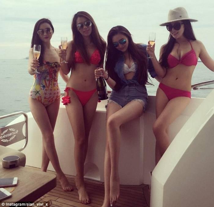 Как живут богатые девушки Китая на фото из Instagram