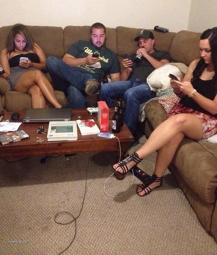 Рабы мобильных телефонов