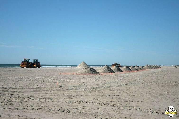 Впечатляющие песчаные скульптуры от Карла Яра
