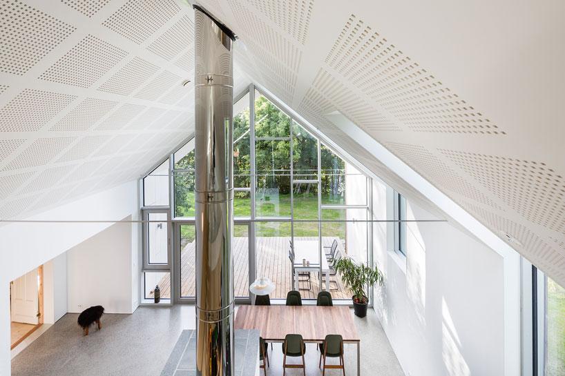 Обновленный загородный дом в Норвегии
